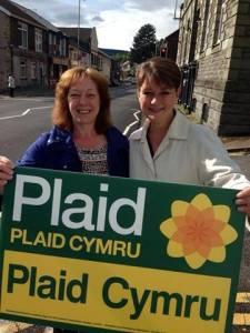 Jill Evans a Leanne Wood