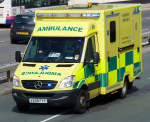 South Western Ambulance VX09FYP