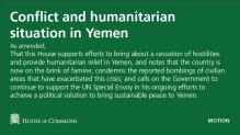 Yemen Motion
